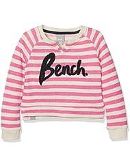 Bench Mädchen Sweatshirt Stripey Logo Crew