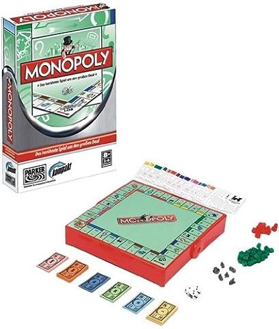 Hasbro 01324100 - Parker Monopoly kompakt (Monopoly Kompakt)