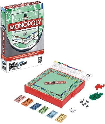 Hasbro 01324100 - Parker Monopoly - Monopoly Unterwegs Für