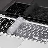 #6: Mobicom MacBook Air Pro Keyboard Skin Cover Protector for US Layout Models A1278, A1286, A1369, A1370, A1398, A1425, A1465, A1466, A1502 (Soft Transparent)