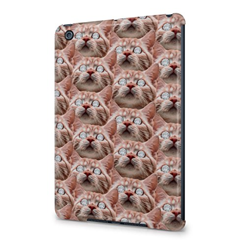 ginger-cat-diamond-eyes-dope-rich-high-life-plastic-snap-on-protective-case-cover-for-ipad-mini-1