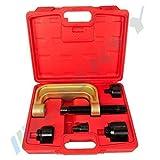 Traggelenk Kugelgelenk Ausdrücker Werkzeug für Mercedes Abzieher geeignet für Mercedes-Benz, Baureihen 220 (S-Klasse 1998–2005), 211 (E-Klasse 2002–2009) und 230 (SL ab 2001) CMBTA-14