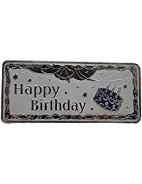 Kataria Jewellers Happy Birthday 100 Grams Silver in 999 Purity BIS Hallmarked Silver