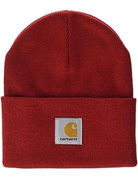 Carhartt Cuffia unizex mod.ACRYLIC WATCH HAT colore rosso