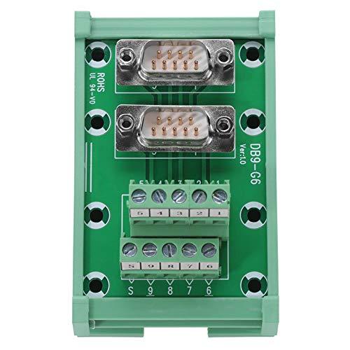 DB9-Schnittstellenmodul für DIN-Schienenmontage Breakout-Platine Klemmblockadapter Audio-Zubehör - Db9-verbindung