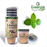 [Sponsored]Greenzie Tulsi Bliss Herbal Tea (Just Add Hot Water To Make Tea) Pack Of 10 Infusion Cups