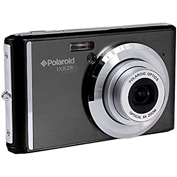 Polaroid IX828 20MP 8x Zoom Compact Camera - Black