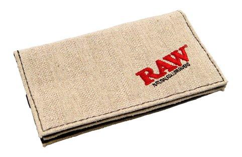 crudo-portatabacco-155x90mm-nastro-di-gomma-affumicatore-portafoglio-3-scomparti-rotolamento-sacchet