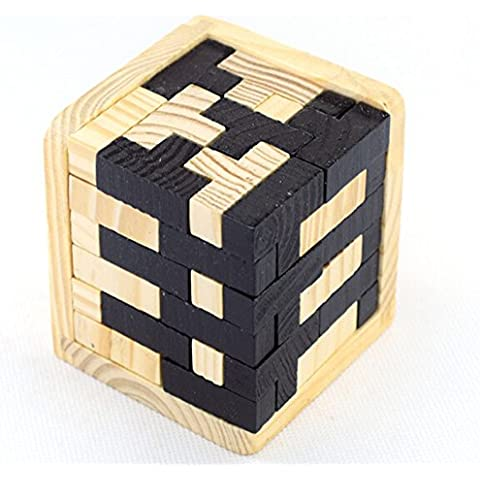 Askliy Rubik's Cube Magic Cube Intellengence Ninos Educacion Herramientas Juego de Puzzle,Plata Cubo de rubik (8CM *8CM *8CM, Magic