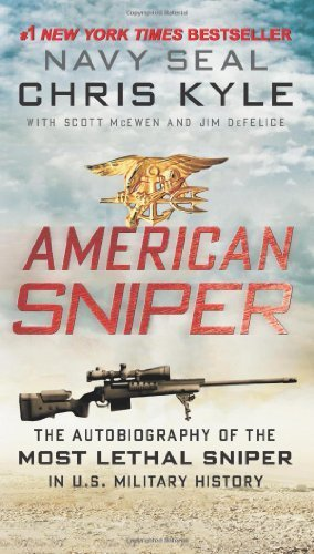 American Sniper: The Autobiography of the Most Lethal Sniper in U.S. Military History by Kyle, Chris, McEwen, Scott, DeFelice, Jim (2013) Mass Market Paperback