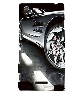PRINTSWAG CAR Designer Back Cover Case for SONY XPERIA T3