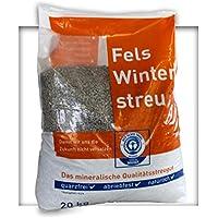 20 kg umweltfreundlicher Streusplitt Kalksplitt Streugut 2/5 mm Salzfrei Winterstreu Slitt ohne Salz