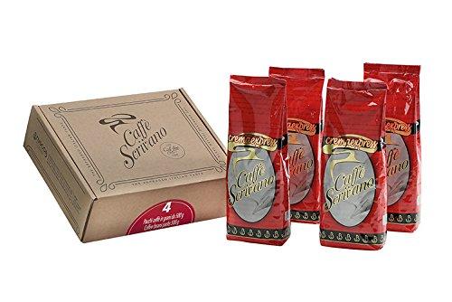 Caffè Scrivano Cremaexpress in grani 4 X 500 g