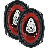 BOSS AUDIO CH6930 Chaos Series Speakers (6'' x 9'', 400 Watts)