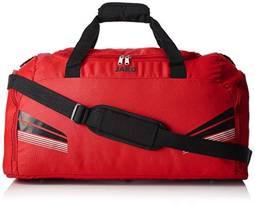 JAKO Sporttasche Pro Rot/Schwarz/Weiß