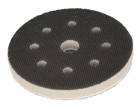 Softauflage Ø 115mm 8-Loch Interface-Pad für Schleifteller Polierteller Stützteller für Klett-Schleifscheiben - DFS