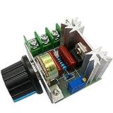 Robocraze 2000W AC 50-220V 25A Adjustable Motor Speed Controller Voltage Regulator PWM