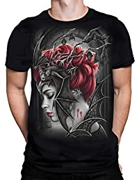 Spiral Direct Queen Of The Night- T-Shirt Black