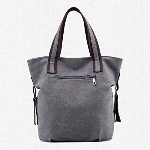 Frauen-Segeltuch-Tote Beiläufige Handtasche Karikatur-Anime-Schulter-Beutel Große Kapazitäts-Dame Bag Blue