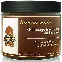 Gommage au Savon noir traditionnel 100% naturel 250g