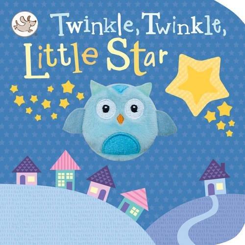 Little Learners Twinkle, Twinkle, Little Star Finger Puppet Book por Parragon Books Ltd