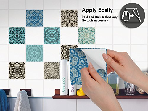 piastrelle adesive pvc per cucina - decorazione moderni | adesivi ... - Piastrelle Adesive Da Muro