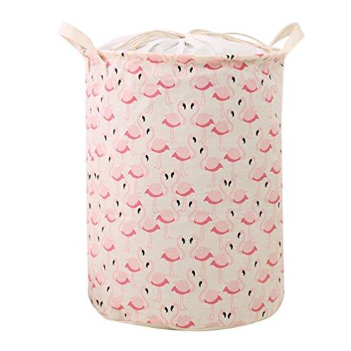 Dooxi Stoff Aufbewahrungskorb Aufbewahrungsbox Waschekorb Aufbewahrungskiste Aufbewahrungstasche Aufbewahrung Korb Kinderzimmer Spielzeug Kleider