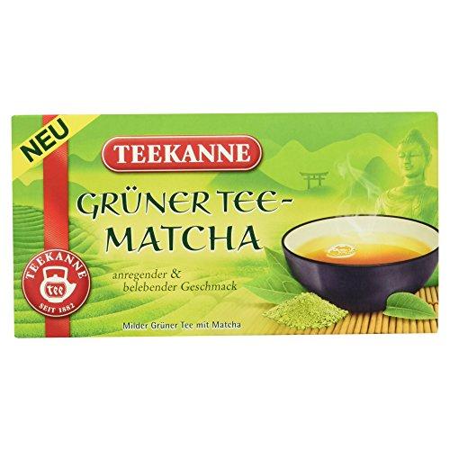 Teekanne Grüner Tee Matcha, 20 Beutel, 35g