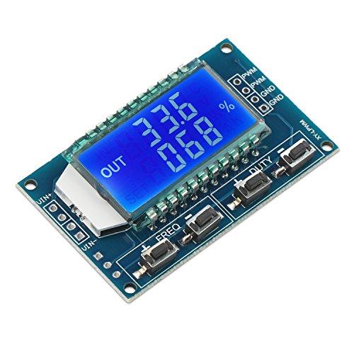 Droking LCD-Anzeige PWM-Frequenz-Meter 1Hz-150kHz Einstellbare Duty Ratio 0~100% Rechteckwelle Wellensignalgenerator - Oz Anzeigen