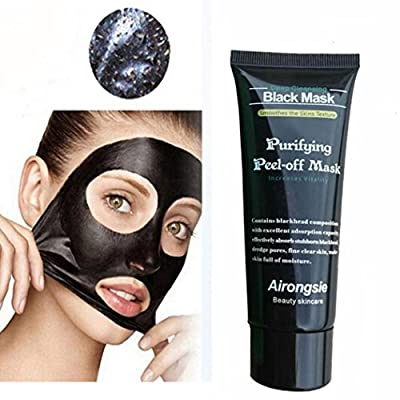 Face Mask,Fulltime(TM) Black Mud Deep Cleaning Peel Off Blackhead Remover by Fulltime