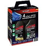 Stark 40035Kit de nettoyage de voiture, 4pièces–élimination des insectes d'entretien, nettoyant jantes et disque Tableau de Bord