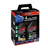 Stark 40035auto kit di pulizia-Set di 4insetticida, lucida cruscotto, cerchi e disco Cleaner