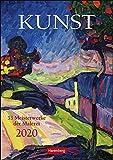 Kunst Wochen-Kulturkalender. Wandkalender 2020. Wochenkalendarium. Spiralbindung. Format 25 x 35,5 cm