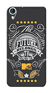 MTV Gone Case Mobile Cover for HTC Desire 820