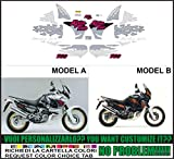 Kit adesivi decal stikers HONDA XRV AFRICA TWIN RD 07 750 1995 (ability to customize the colors)