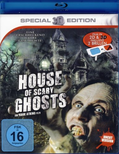 House of Scary Ghosts - Film in 3D inkl. Brillen (Film Scary House)