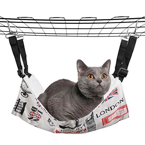 ZWW Haustier-Hängematte, Cat Nestschaukel Plus Velvet Herbst und Winter warm für 20 Kg innerhalb Kleintiere