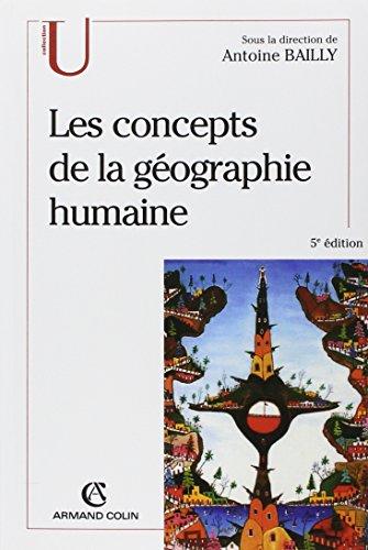 Concepts de la géographie humaine