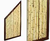 Bambus Abschlusselement