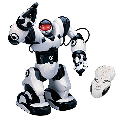 Playtech-Logic-RoboActor-Interactive-Programmable-RC-Robot-Intelligent-Walking-Running-Remote-Control-Robot-67-Pre-Programmed-Functions-Humanoid-Robosapien-with-Attitude-Infrared-Remote-Controlled