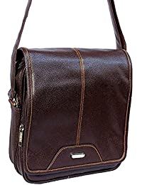 """10"""" Stylish Faux Leather I-Pad Sleeve Messenger Office Bag With Shoulder Strap By-Widnes"""