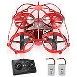 Drones controlados por aplicación o por control remoto