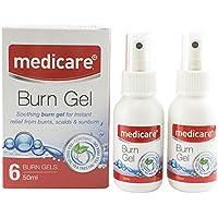 Medicare Burn Gel Spray (50ml) - Beinhaltet Teebaumöl preisvergleich bei billige-tabletten.eu