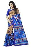 Shree Sanskruti Tassar Silk Saree With Blouse Piece (_Multi_Free Size)