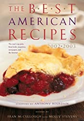 The Best American Recipes 2002-2003 (Best American) by Fran McCullough (2002-10-15)