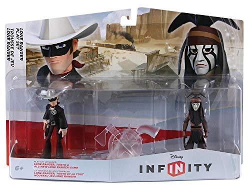 disney infinity: playset pack con the lone ranger e tonto (set di personaggi)