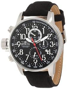 Invicta 1512 - Reloj de hombre de cuarzo negro de Invicta