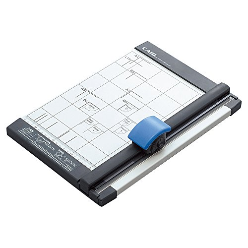 CARL DC-212 Rollenschneider/ Rotary Trimmer (A4, 10sheets/Straight; 3sheets/Wave Pattern)