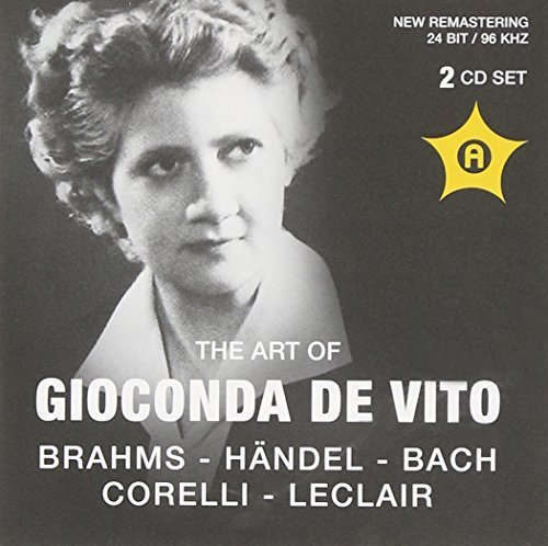The Art of Gioconda de Vito Violin (1956-59) by de Vito (2011-06-16)