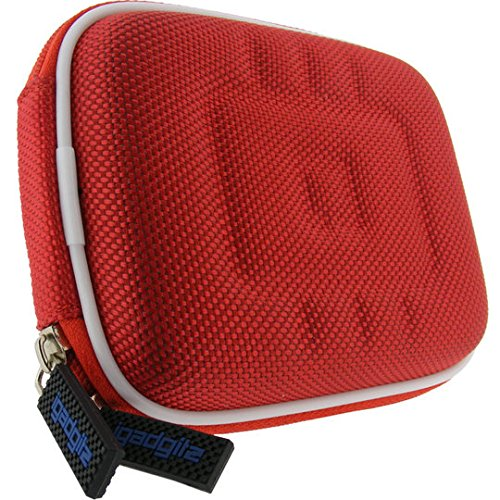 iGadgitz U0237 Beuteltasche Rot Kameratasche/-koffer - Kamerataschen/-koffer (Beuteltasche, Jede Marke, Rot) Mino Camcorder